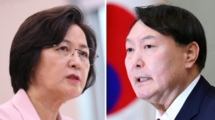 '추미애 vs 윤석열' 두고 정치권 설전…민...