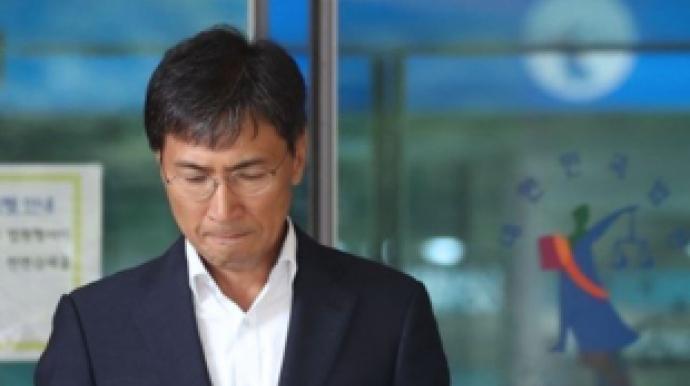 """안희정 전 지사 모친 빈소 조문…""""형집행..."""