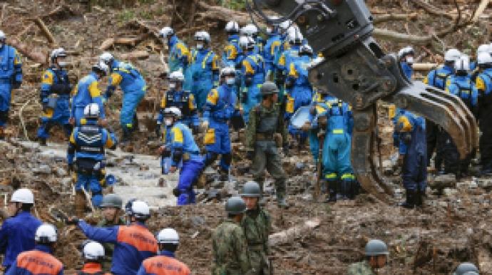日규슈 폭우로 사망·실종 60명 육박…최...