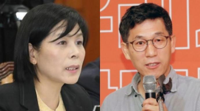 """최민희 '정의당 비판'에 진중권 """"본인이나..."""
