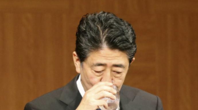 """아베의 '망신'…""""日 코로나 사망 적다..."""