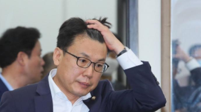 """진성준, 靑 떠난 김조원에 """"마무리 깔끔..."""
