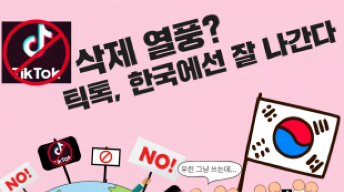 틱톡, 꼭 지워야할 중국앱?…한국선 '남...