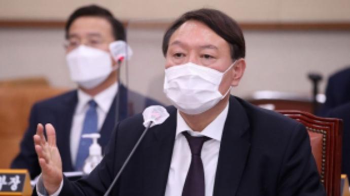 """윤석열 """"민주당 '사퇴하라'할때, 文대통..."""