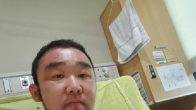 의료 사고?…'보디빌더' 김기중, 부항으...