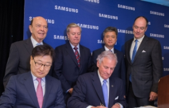 Samsung inks deal for US$380m appliance plant in South Carolina