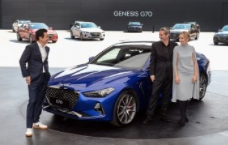 Hyundai sets Genesis G70 sales target of 60,000 units next year