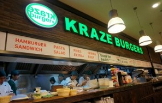 LF Food acquires Kraze Burgers