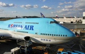Police raid Korean Air