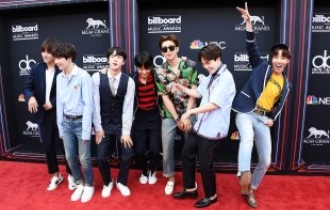 Big Hit stocks soar on BTS' fame, Billboard award