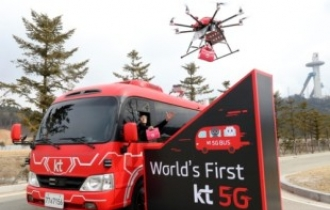 KT fuses drones, robots, network for hi-tech rescue operations