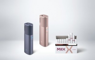KT&G launches new HNB tobacco sticks MIIX Classy