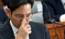 Jailed Samsung heir's stock assets rise W90b