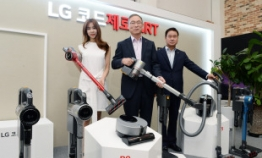 LG aims to be top-tier player in cordless cleaner market