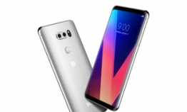 Upbeat mood continues in smartphone market with LG V30