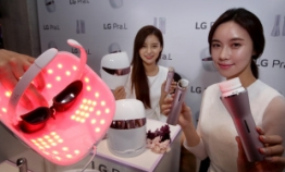 LG showcases beauty appliances for home care