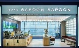 Korea Ginseng Corp. opens lifestyle cafe Sapoon Sapoon