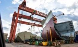 Korea tops global shipbuilding orders in July