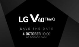 LG takes on Samsung, Apple with V40 ThinkQ