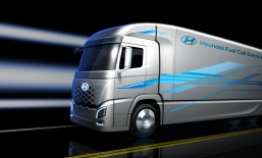 Hyundai unveils fuel cell truck ahead of 2019 launch
