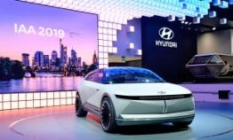 Hyundai unveils EV concept 45 at Frankfurt motor show