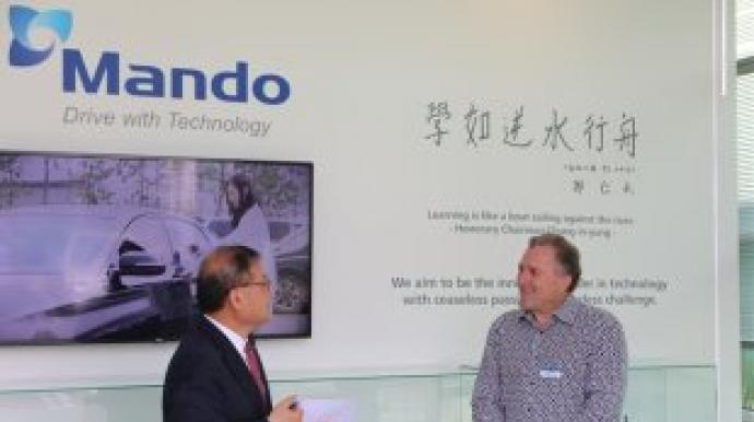 Mando opens new Silicon Valley office for autonomous drive