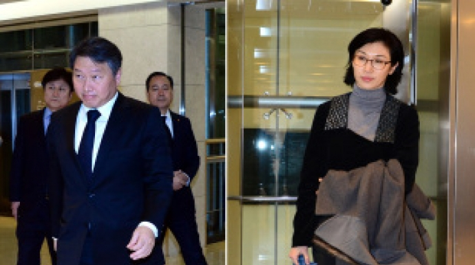 SK chairman files for divorce