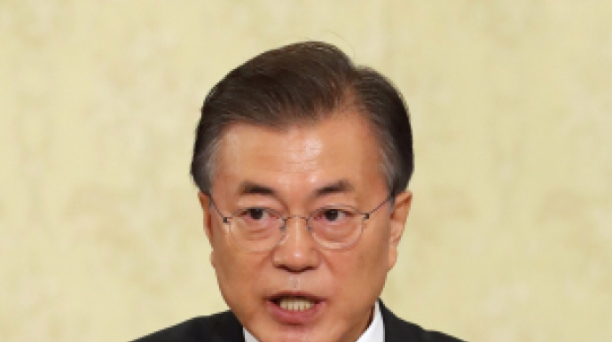Moon underlines 'no immediate tax hike' for his economic plans