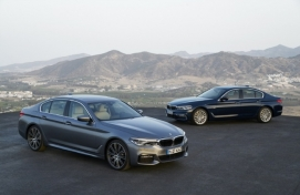 Smarter, safer BMW 5 Series to hit Korean market in Feb.