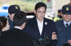 [HEIR ARREST] Samsung heir summoned for second day of questioning