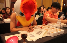 Woowa Bros.' 'chimmelier' event heats up chicken industry