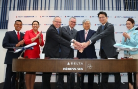 Korean Air receives US approval for joint venture with Delta