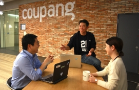 Coupang highlights creativity, openness in its new office
