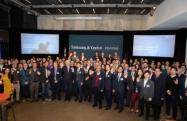 Samsung opens AI research center in Montreal
