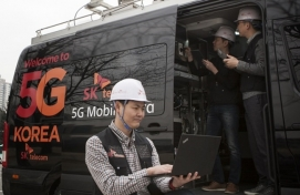 S. Korea mobile carriers admit shaky 5G network in early stage