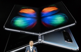 Samsung ramps up foldable smartphone panel output