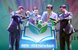 KEB Hana becomes 2nd-largest shareholder of BIDV