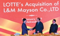 Lotte Confectionery acquires Myanmar's L&M Mayson
