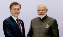 Moon, Modi seek synergies between their signature regional strategies