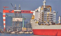Samsung Heavy builds world's largest container ship