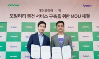 Mesh Korea, Beam partner up for battery charge