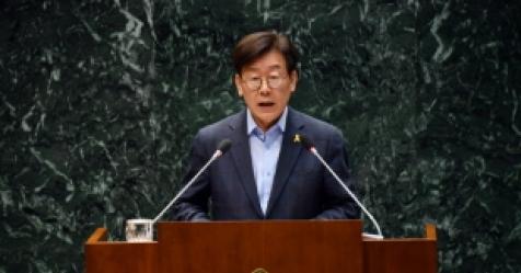 """""""반대 시의원들 명단 공개""""…이재명, 야당 잇단 딴지에 ..."""