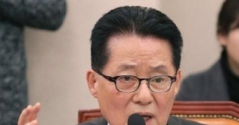 """박지원 """"안희정 1심 무죄, 진실은 더 크고 복잡하지 않을..."""