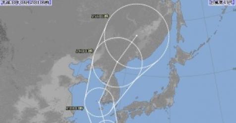 日 태풍 솔릭 예상은 23일 목포→24일 당진 원산