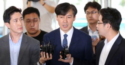 """조국 """"아이 문제 불철저 송구""""...완주 의사 재확인"""