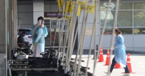 서울  확진자 누계 570명…해외 접촉 208명