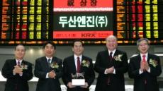 두산엔진 유가증권시장 상장기념식 개최