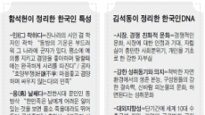 <한국인의 DNA를 찾아서>'우리'의 응집력…위기마다 빛났다