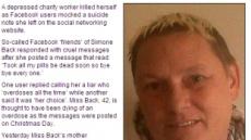 페이스북 자살예고女, 친구들 외면에 결국 사망