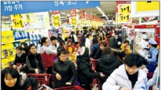 '동네 슈퍼마켓'은 한파에 강했다